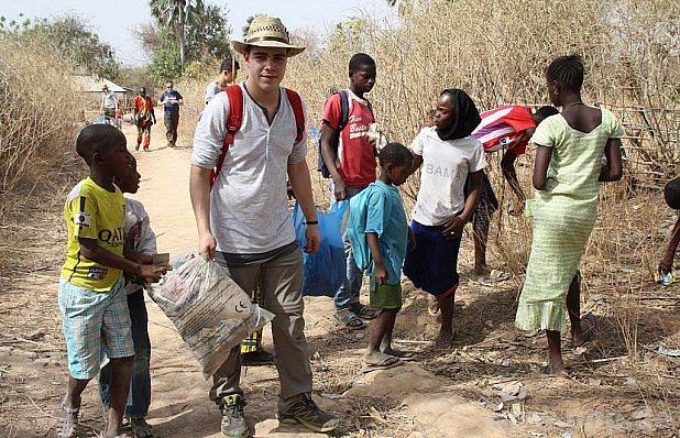 Pomohli senegalským rodinám.