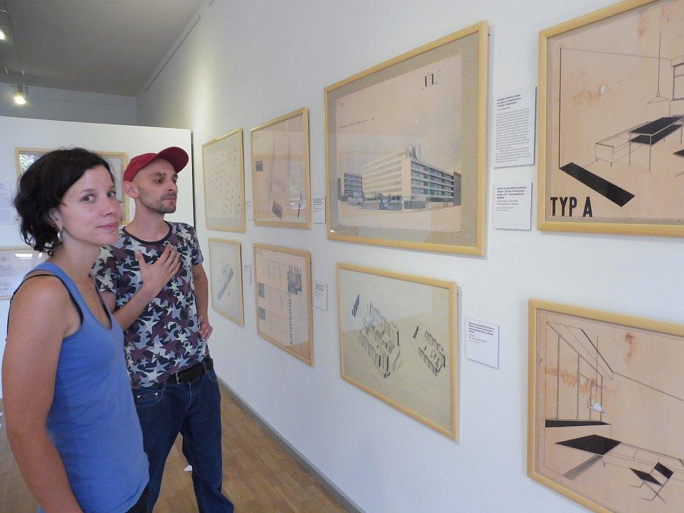 Před nedávnem začala v Galerii Mariánská výstava Alšovy jihočeské galerie Bydlet spolu: České kolektivní domy.