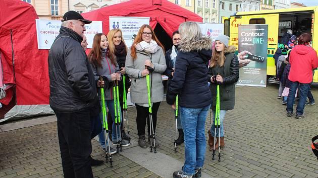 V úterý 14. listopadu se pochodovalo proti diabetu.