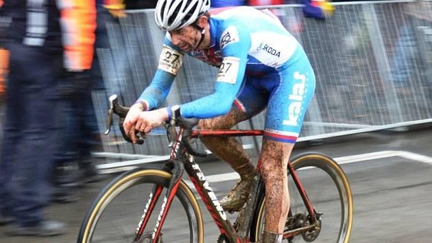 REPREZENTANT. Táborský cyklokrosový tým chce posílit o kvalitní závodníky. Takový Radomír Šimůnek by se jistě táborským trenérům do party hodil.