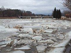 V Týně nad Vltavou zvládli hrozbu povodně.