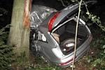 Dopravní nehoda u Trocnova.