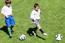 Talentovaní fotbalisté si mohou na vlastní oči užít zápas Česko - Itálie.
