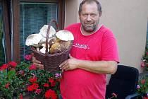 Opakovaně přiváží Radek Petr z Kamenného Újezdu hlavně krásné praváky od Přísečné na Českokrumlovsku.