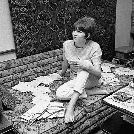 Zpěvačka Marta Kubišová, rok 1967.