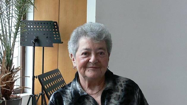 Hana Tvrská přežila jako dítě hrůzy nacistických vyhlazovacích táborů. Dnes žije v Českých Budějovicích.