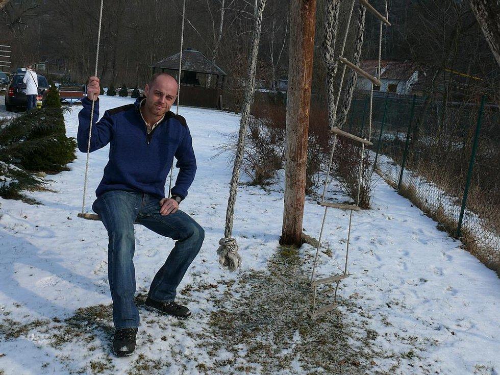 Lukáš Novosad, ředitel Krumlovského vodáckého maratonu