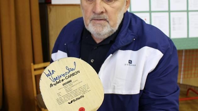 Výstava sběratele Pavla Nápravníka na Filipovci u příležitosti 30 let klubu st. tenisu ESO Doubravice.