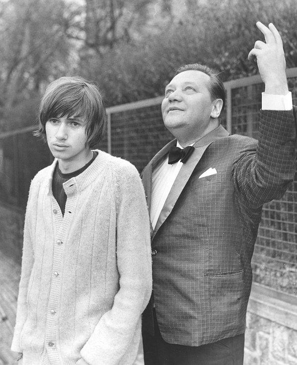 Lítost 1970, Jan a Rudolf Hrušínský režie Evald Schorm.