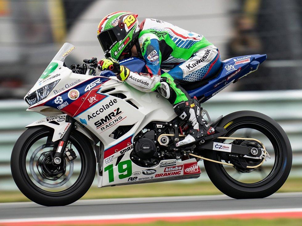 Victor Rodriguez jezdil v Assenu hodně rychle, ale body nemá.