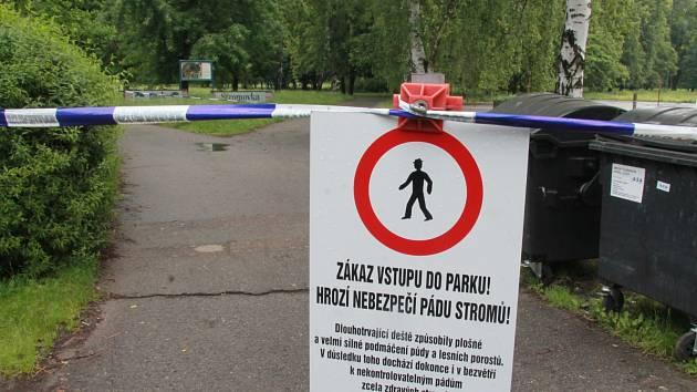 Vstup do Stromovky je oficiálně zakázán.
