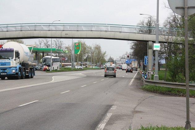 Objízdná trasa Dlouhá louka.