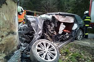 Minulý týden se stala tragická nehoda u Dolního Dvořiště na Českokrumlovsku.