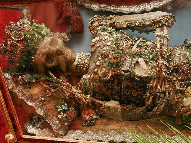 Jedním z unikátů Hradního muzea v Českém Krumlově, které za první rok existence navštívilo skoro 50 tisíc lidí, je relikviář svatého Reparáta.