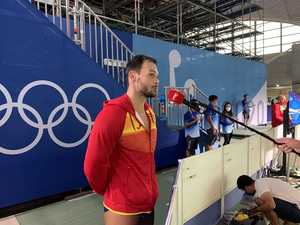 Český vodní pólista Martin Faměra hraje za Španělsko na OH