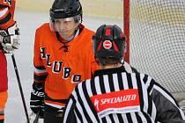 V okresním play off SKH Hluboká překvapivě podlehl na svém ledě Sharks Č. Krumlov 7:14.