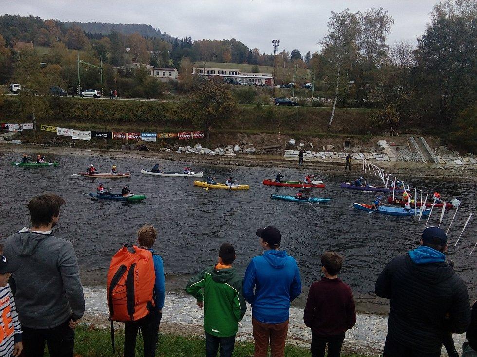 Krumlovský vodácký maraton 2017