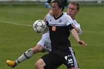 Devatenáctka Dynama po vítězství s Hradcem Králové (na snímku střelec Jan Chylík) hraje v I. lize dorostu v sobotu v Pardubicích.