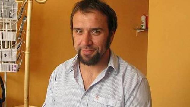 Tomáš Brejcha, terapeut a vedoucí Adiktologické poradny občanského sdružení Prevent v Českých Budějovicích.