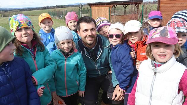 Vít Sumerauer, ředitel mateřské školky v Borovanech.