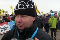 Trenér týmu CT ČEZ Tábor a reprezentace Stanislav Bambula