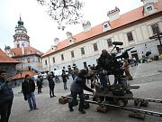 V Českém Krumlově se 2. listopadu natáčel německý historický film o reformátorovi Martinu Lutherovi. Dvoudílný film odvysílá příští rok německá stanice ZDF. Na snímku