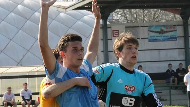 Starší dorost SKP ČB doma remizoval s Duklou Praha 1:1.