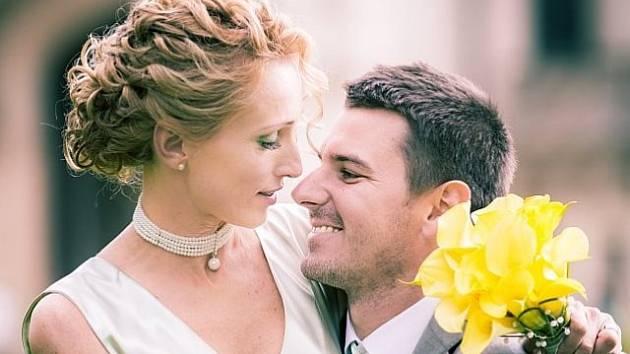 Manželé Hana a David Šťastní.