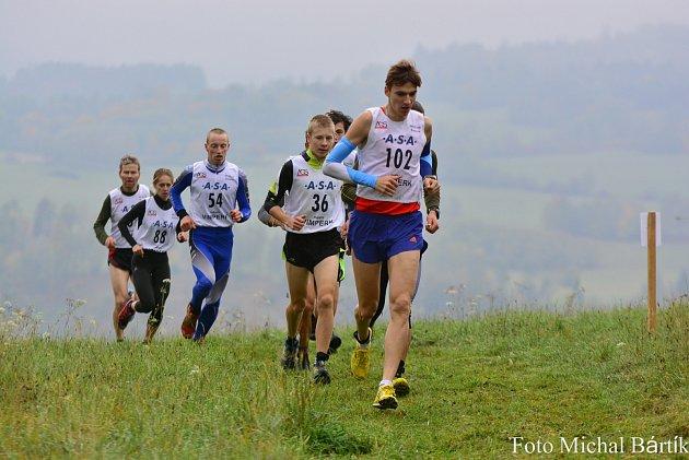 Závod v přespolním běhu ve Čkyni, na startu byl letos i Jiří Csirik vynikající jihočeský běžec a mistr světa ve štafetě v kvadriatlonu a Pavla Schorná, dvojnásobná mistryně Evropy v let.biatlonu a medailistka z ME i MS v běhu do vrchu