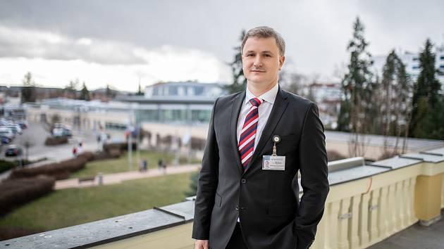 Nemocnici České Budějovice od pátku 5. dubna vede Michal Šnorek.