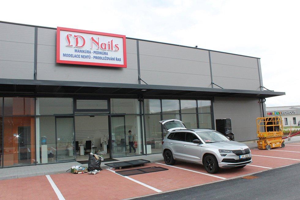 Retail park Okružní otevře již 15. června několik obchodů.