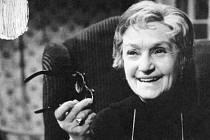 Mezi nejslavnější role herečky, role herečky, od jejíž smrti právě uplynulo dvacet let, patří babička v seriálu Taková normální rodinka.