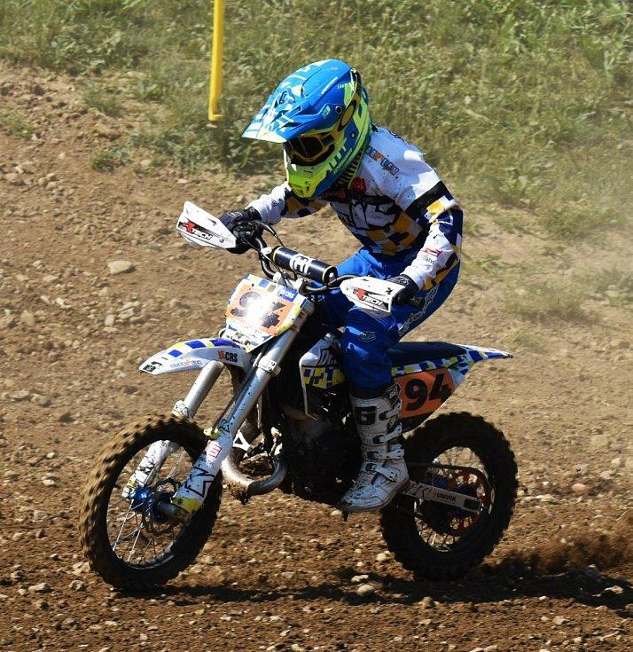 Ve Voticích začal krajský přebor v motokrosu.
