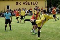 již po šestadvacáté v řadě zavzpomínali v neděli 5. července fotbalisté z Všeteče a okolí na svého předčasně zesnulého spoluhráče a kamaráda Pavla Macharta.