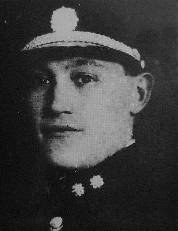 Příslušník SOS František Koranda.
