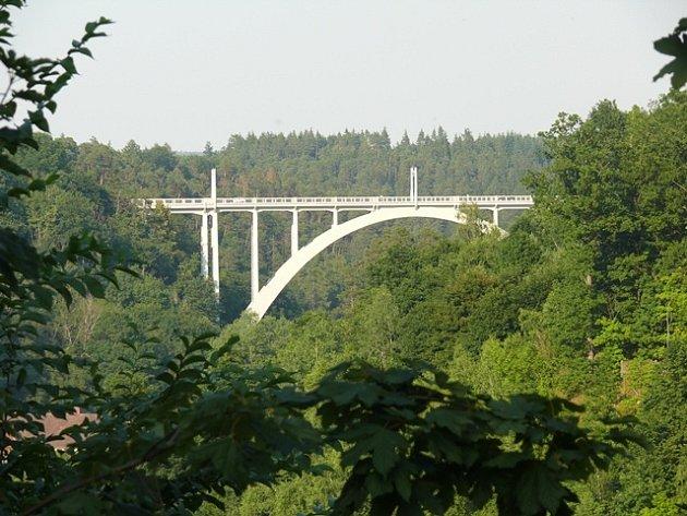 Bechyňský most.