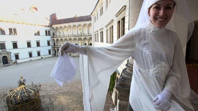 Na jindřichohradeckém zámku každoročně ožívá Bílá paní