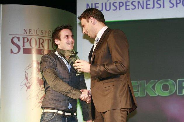Nejlepším sportovcem Jihočeského kraje za rok 2010 byl Martin Bína