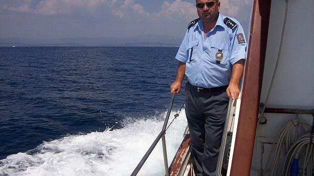 Policista Ivan Fanta sloužil v Chorvatsku.