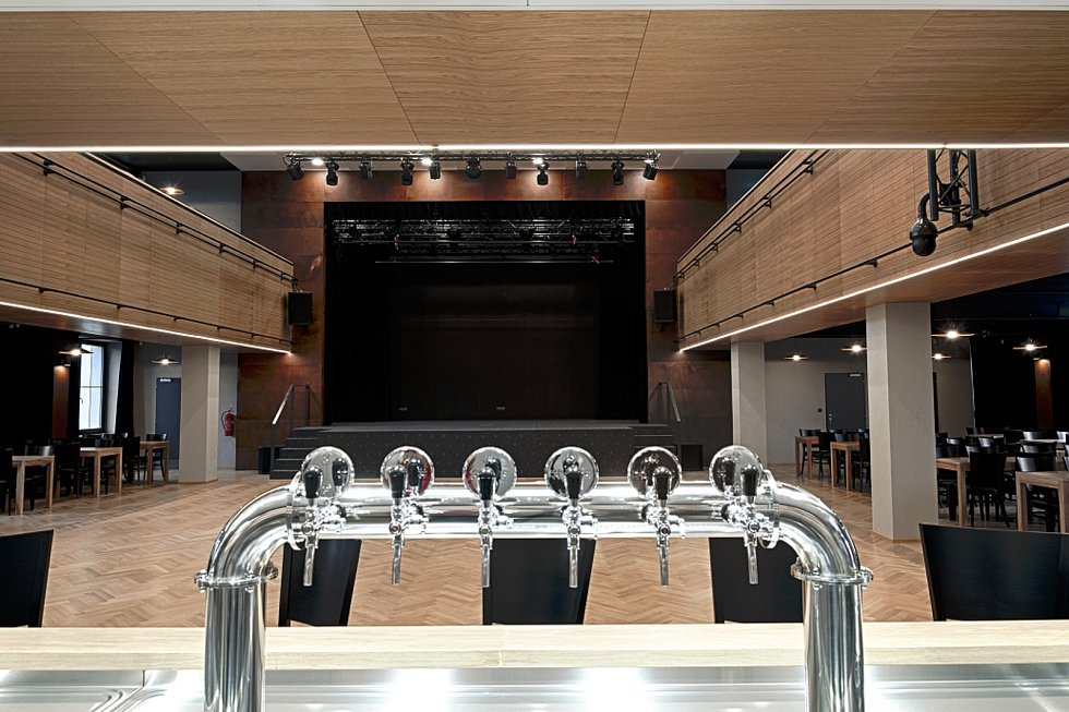 Kulturní prostor pro divadla, plesy, diskotéky, konference, koncerty aj.