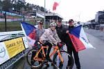 PREMIÉRA. Denisa Mináriková - Švecová se svými fanoušky v Zolderu