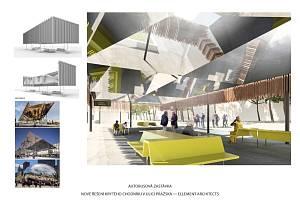 Příští podoba Pražské třídy v Českých Budějovicích podle návrhu architektů ze zlínského studia ellement architects.