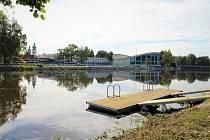 Jedno z nových mol je na proti plaveckému stadionu v Českých Budějovicích.