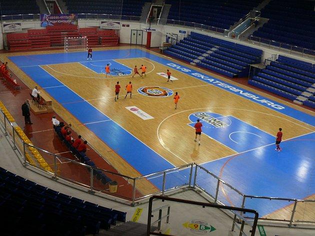 Jihočeši jsou na turnaji v Jekatěrinburgu