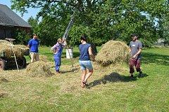 Farmářský den pro malé i velké připravili na sobotu pracovníci Jihočeského zemědělského muzea v Netěchovicích. Foto: Lenka Zajícová