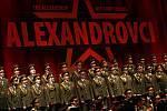 Alexandrovci zpívali 8. prosince v českobudějovické Budvar aréně. Přilákali asi 3000 lidí.