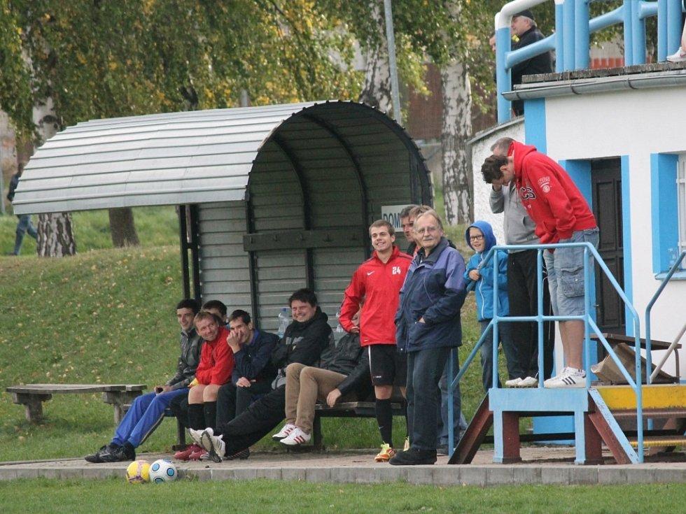 Rezervní týmy Dolního Bukovska a Ševětína se rozešly v derby bez branek.