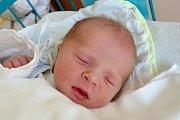 Kryštof Novotný se narodil 25. 4. 2018 v 7.32 h. Poté, co přišel na svět, vážil 3,46 kg. V Českých Budějovicích vyroste společně s 2,5letou sestřičkou Karolínkou.