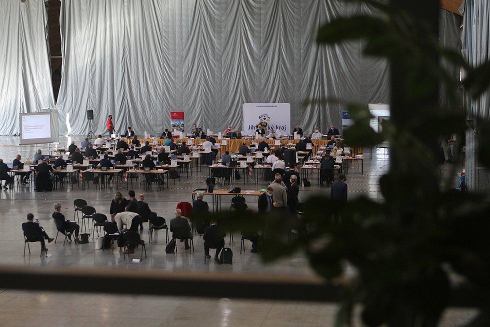 Poslední zasedání zastupitelů kraje v tomto volebním období.