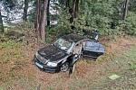 Vážná nehoda na Třeboňsku.